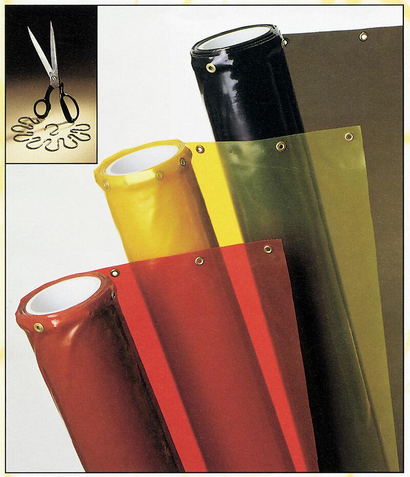 Transparent Welding Curtains & Partitions - Trans-Vue | Singer ...