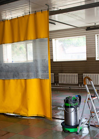 Garage Divider Curtains