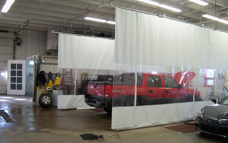 auto repair curtains