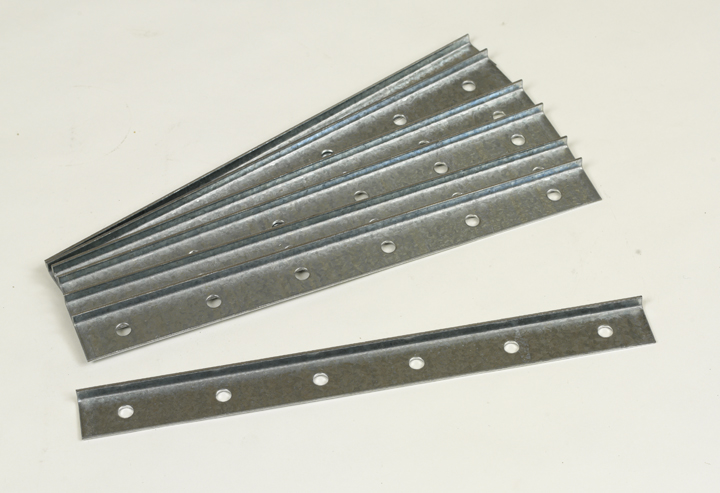 1' Galvanized Face Plates